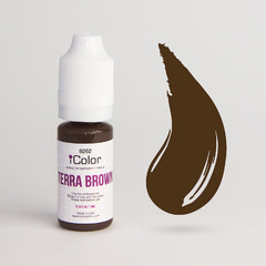 Пигмент для бровей iColor Terra Brown